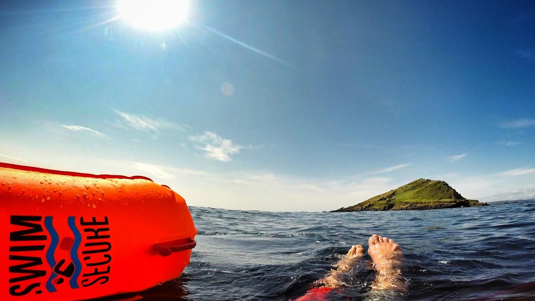 Zwemboei open water